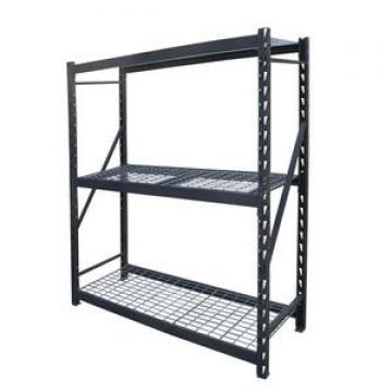 Amj241472b4 Ce ISO SGS Approved 4 Tier Black Heavy Duty Wire Shelf