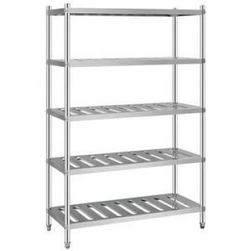 "18""Stainless Steel 2 Tier Bathromm Towel Shelf"